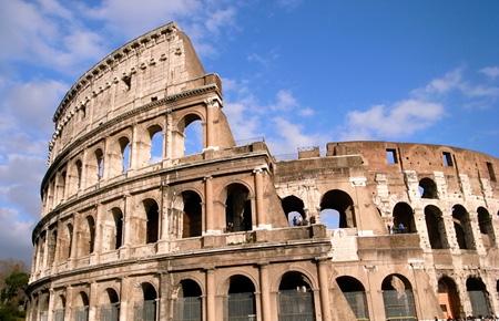 ローマコロッセオ写真